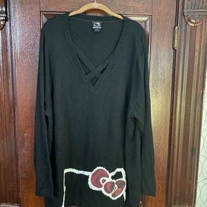 Hello Kitty Sweater made for Torrid. Pre owed
